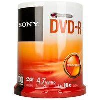Sony Blank Dvd (Pack Of 100)