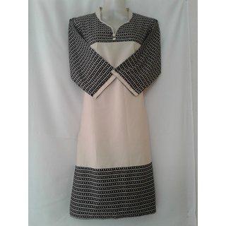 Ma textiles lizzybizzy fabrics designer kurti.