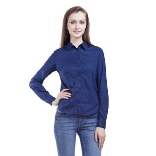 Mansi Collections Solid Formal Shirt