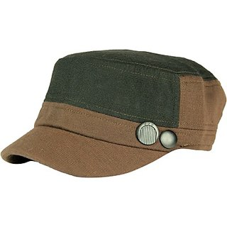FabSeasons Solid Fancy Cap Cap MC09green CAPEGBHX4NUZUMX5