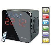 Ducasso Black Boy Bluetooth Speaker With USB+SD CARD+ALARM+FM RADIO+CLOCK+REMOTE