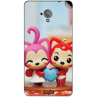 Instyler Mobile Skin Sticker For Micromax Superfone A101 MSMMXSUPERFONEA101DS-10065