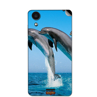Instyler Mobile Skin Sticker For Micromax Canvas Selfie 2Q340 MSMMXCANVASSELFIE2Q340DS-10014