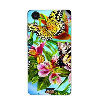 Instyler Mobile Skin Sticker For Micromax Canvas Selfie 2Q340 MSMMXCANVASSELFIE2Q340DS-10047