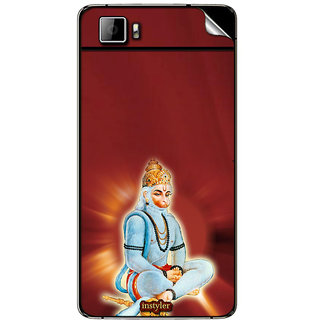Instyler Mobile Skin Sticker For Micromax Canvas Fire 3A096 MSMMXCANVASFIRE3A096DS-10099