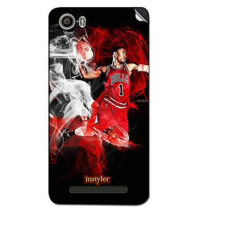 Instyler Mobile Skin Sticker For Micromax Canvas Juice 4Gq461 MSMMXCANVASJUICE4GQ461DS-10142