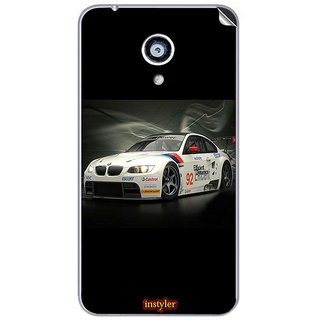 Instyler Mobile Skin Sticker For Micromax Canvas Mega 4Gq417 MSMMXCANVASMEGA4GQ417DS-10037