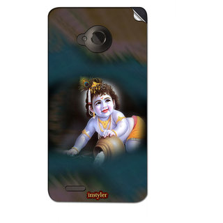 Instyler Mobile Skin Sticker For Micromax Canvas Amaze 4Gq491 MSMMXCANVASAMAZE4GQ491DS-10087