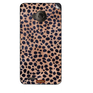 Instyler Mobile Skin Sticker For Micromax Canvas Amaze 4Gq491 MSMMXCANVASAMAZE4GQ491DS-10157