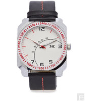 Killer White Dial Analog Watch For Men  KLW5001A