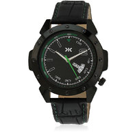 Killer Black Dial Analog Watch For Men  KLW5008C