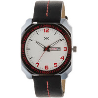 Killer White Dial Analog Watch For Men  KLW5016B