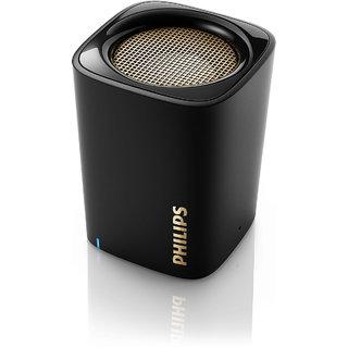 Philips BT100 (Black) Bluetooth Speaker