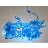 4 Pcs Decorative Blue Rice Rope Light Celebrations Festivals Party Diwali Temple