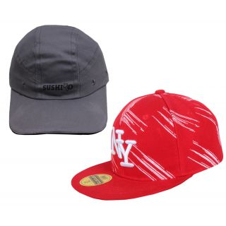Sushito Set Of Two Summer Protect Cap JSMFHCP1578-JSMFHCP1268