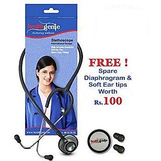Healthgenie Doctors Dual Al Stethoscope DELUXE HG-203G (Grey)