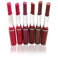 Steel Paris Crystal Moisturising Lipstick  Free Liner  Rubber Band-MMPPP