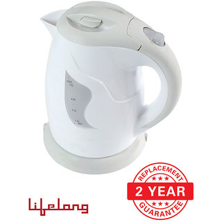 Lifelong TeaTime2 - 1 L Concealed Electric Kettle - (Grey)