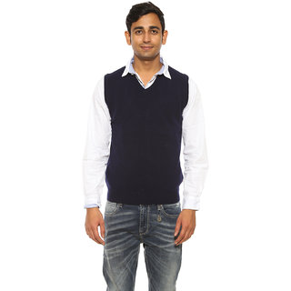 Pepe Jeans Mens Blue Regular Fit Sweaters