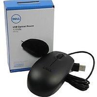 Original Dell MS111 USB Black Optical Mouse