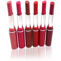 Steel Paris Crystal Moisturising Lipstick  Free Liner  Rubber Band-MMPPP-S4