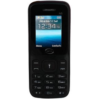 Infix N5 Dual Sim Multimedia with Facebook-Black