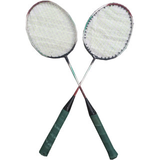 Suraj baby badminton racquets with 2 cocks for your kids SE-BR-01