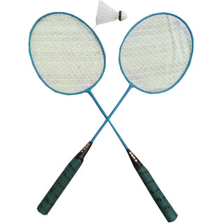 Suraj baby badminton racquets with 2 cocks for your kids SE-BR-03