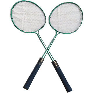 Suraj baby badminton racquets with 2 cocks for your kids SE-BR-04