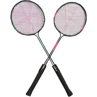 Suraj baby badminton racquets with 2 cocks for your kids SE-BR-06