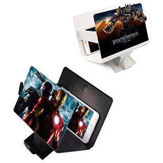 Snaptic Limited Edition Frameless 3D Mobile Screen Magnifier Leather Case