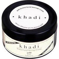 khadi Natural Gold Herbal Facial Massage Cream-pack of 2