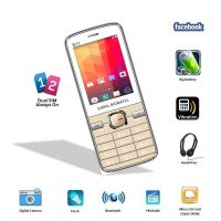 Saral Sigmatel S11 Dual Sim GSM With Facebook Multimedia Camera Mobile Phone