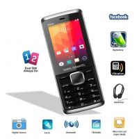 Saral Sigmatel Wave Dual Sim GSM With Facebook Multimedia Camera Mobile Phone