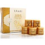 Khadi Gold Facial Kit (Set Of 5)
