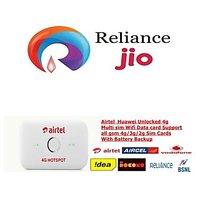 Huawei Airtel 4G wifi hotspot unlocked works with Reliance jio 4G network