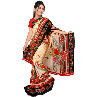 Lovely Look Multi Printed Saree LLKKHM2170