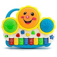 BatterY Operated Electronic Drum with Organ Keyboard For Kids