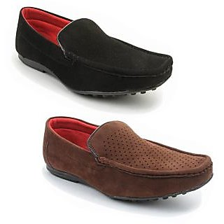 Kewl Instyle Men's Black & Brown Lifestyle Casual Shoes