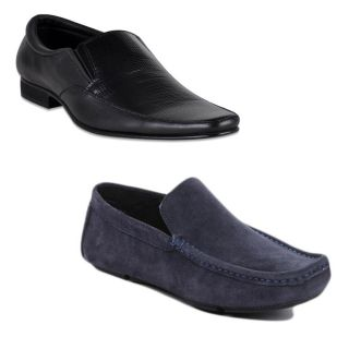 Kewl Instyle Men's Black Stylish Lifestyle Casual Shoes