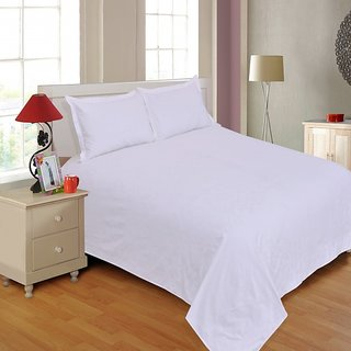 Salona Bichona Jacquard Double Bedsheet with two pillow covers JK-1B