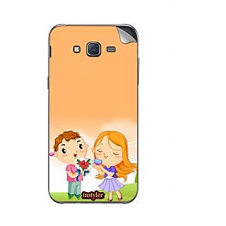 Instyler Mobile Skin Sticker For Samsung Galaxy Tizen Z3 MSSGTIZENZ3DS-10055