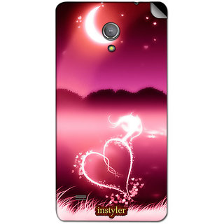 instyler MOBILE SKIN STICKER FOR GIONEE PIONEER P3S