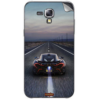Instyler Mobile Skin Sticker For Samsung Galaxy S Duos S7562 MSSGSDUOSS7562DS-10034