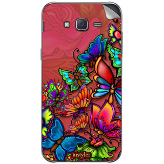 instyler MOBILE SKIN STICKER FOR SAMSUNG GALAXY J2
