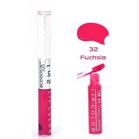 Bonjour Paris 2 in 1 Lip Gloss - Fuchsia