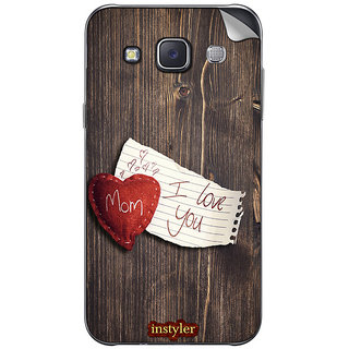 Instyler Mobile Skin Sticker For Samsung Galaxy Grand 3 MssgGrand3Ds-10128