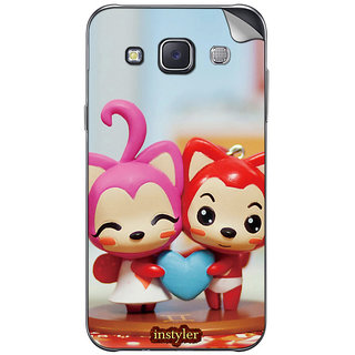 Instyler Mobile Skin Sticker For Samsung Galaxy Grand Max  MssgGrandmaxDs-10065
