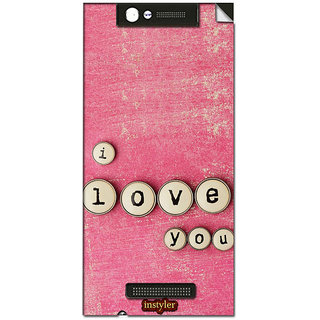 Instyler Mobile Skin Sticker For Gionee Elife E7 Mini MsgioneeE7MiniDs-10126