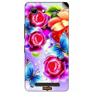 Instyler Mobile Skin Sticker For Gionee Elife S Plus MsgioneeSplusDs-10077
